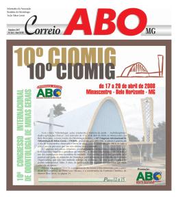Edição nº 261 OUTUBRO / 2007 - ABO-MG