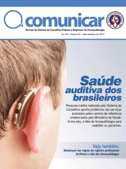 Ver publicação em PDF - Conselho Federal de Fonoaudiologia