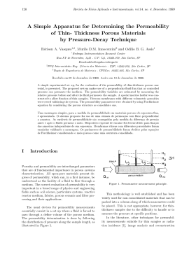 A Simple Apparatus for Determining the Permeability of Thin