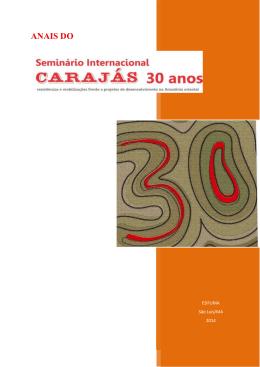 ANAIS DO - Seminário Internacional Carajás 30 anos