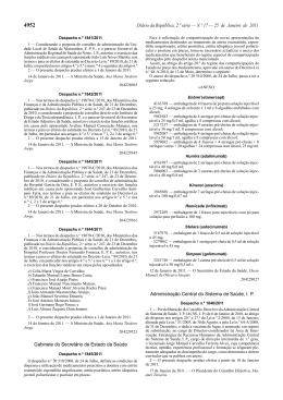 Despacho n.º 1845/2011. DR n.º 17, Série II de 2011-01-25