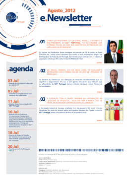 e.Newsletter - GS1 Portugal