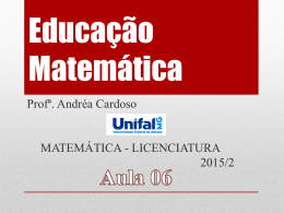 aula 0 - Unifal-MG