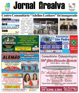 """Centro Comunitário """"Adelino Lenharo"""" foi inaugurado"""