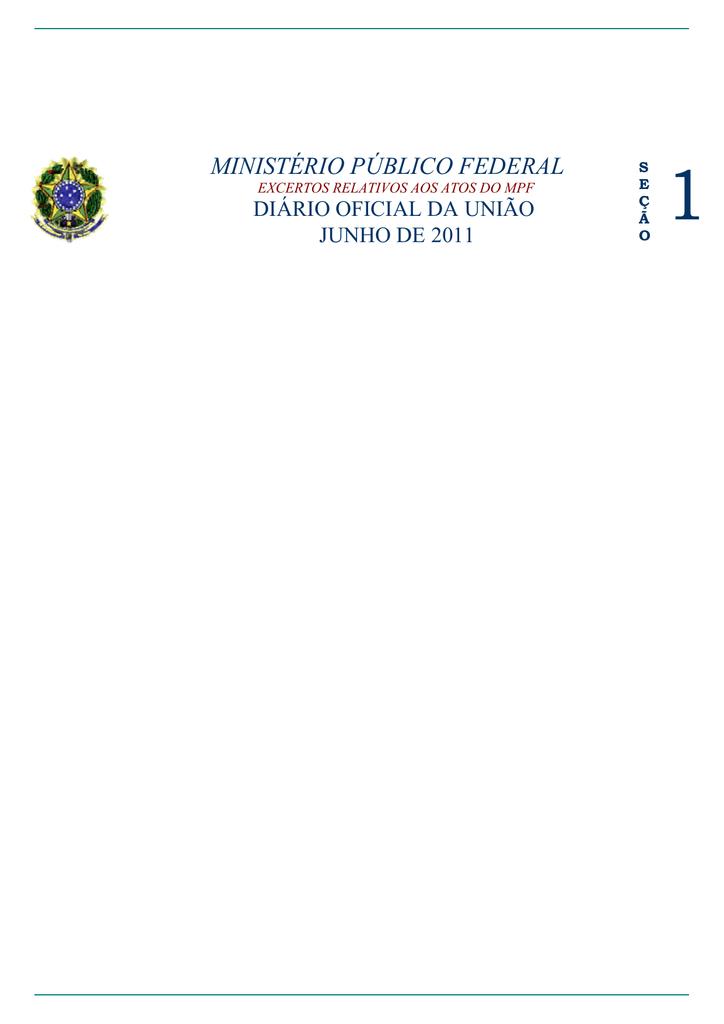 ministÉrio pÚblico federal94934 Como E Feito O Exame De Compatibilidade #9