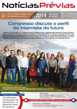 NotíciasPrévias - Sociedade Portuguesa de Medicina Interna