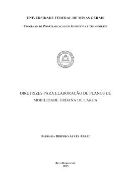 Arquivo - Universidade Federal de Minas Gerais
