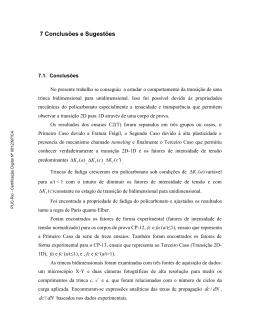 7 Conclusões e Sugestões - Maxwell - PUC-Rio
