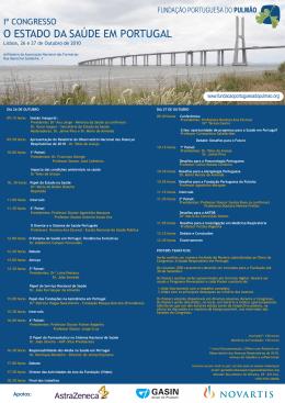 Programa - Fundação Portuguesa do Pulmão