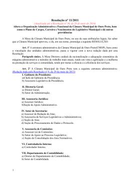 Resolução n° 11/2011