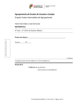 Enunciado Versão 2 - Agrupamento de Escolas de Vouzela e Campia