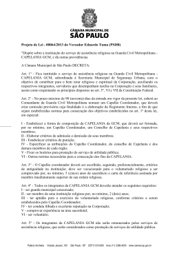 PL - 64-2013 - Vereador Eduardo Tuma