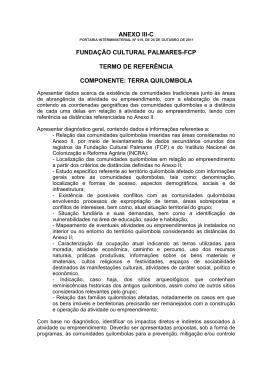 ANEXO III-C FUNDAÇÃO CULTURAL PALMARES