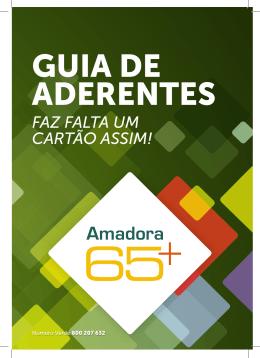 Guia de Aderentes - Cartão Amadora 65 +