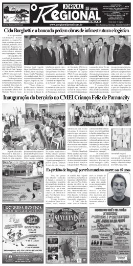 Inauguração do berçário no CMEI Criança Feliz de Paranacity
