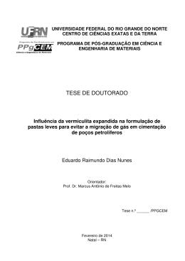 TESE DE DOUTORADO