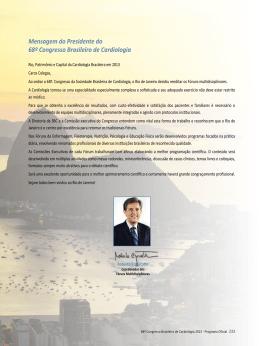Fóruns Multidisciplinares - 70° Congresso Brasileiro de Cardiologia