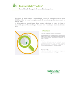 Rastreamento - Schneider Electric