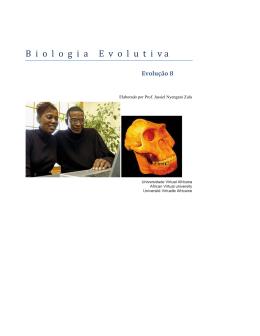 Biologia Evolutiva - OER@AVU