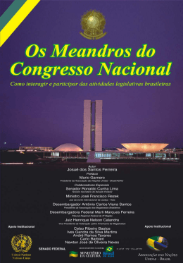 Os Meandros do Congresso Nacional