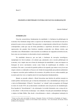 Brasil 3 FILOSOFIA E IDENTIDADE CULTURAL EM FACE DA