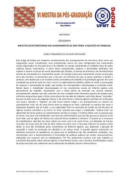 MESTRADO-GEOGRAFIA-SHIRLEI FERNANDES DE OLIVEIRA
