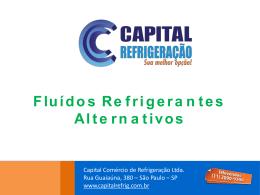 Fluídos Refrigerantes Alternativos