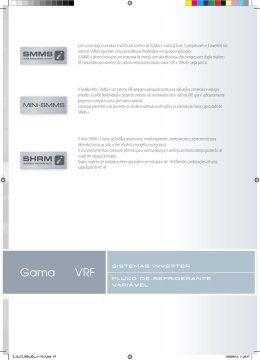 Gama VRF - Toshiba