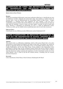 Imprimir artigo - Sistema de Bibliotecas da Unicamp