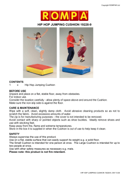 HIP HOP JUMPING CUSHION 19228-9