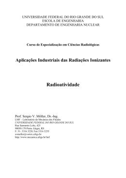 Radioatividade - Sergio V. Möller