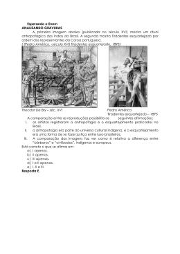 31. Questão analisando gravuras