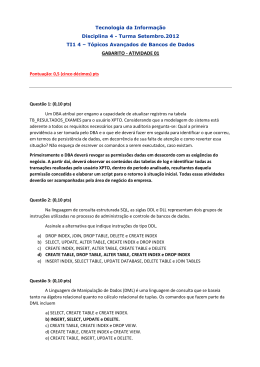 GABARITO - ATIVIDADE 01