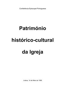 Nota sobre o património histórico