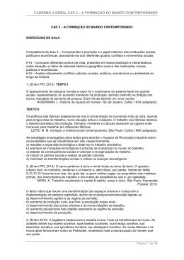 caderno 2 geral cap.3 – a formação do mundo