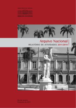 Relatório de Atividades 2011- 2014