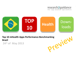 Brazil Top 10 mHealth Apps Performance