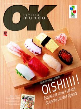 Explosão de cores e sabores da grande culinária nipônica