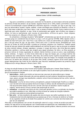 EDUCAÇÃO FÍSICA PROFESSOR / ASSUNTO Antonio Carlos