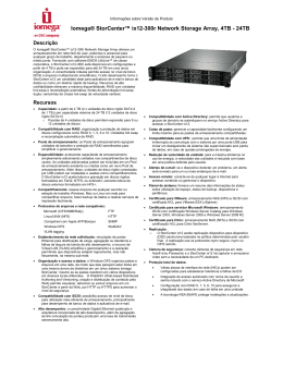 Iomega® StorCenter™ ix12-300r Network Storage Array