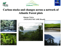 Carbon stocks and changes across a network of Atlantic