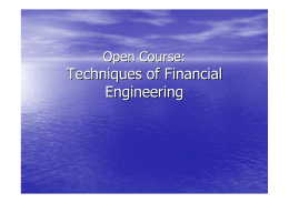 Techniques of Financial Engineering (PDF FIle Download)