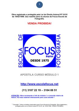 Apostila_ Modulo _1_Distancia - (11) 3107 2219 Focus Escola de