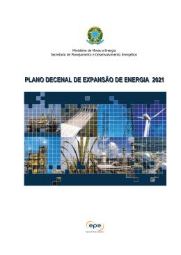 PLANO DECENAL DE EXPANSÃO DE ENERGIA 2021