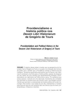 Providencialismo e história política nos Decem Libri