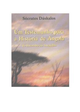 Um testemunho para a História de Angola
