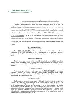 Modelo Contrato de Administracao