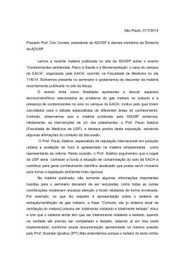Confira a íntegra da carta, assinada por Andrea Cavicchioli