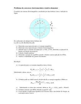 Problema Resolvido do conversor rotativo elementar