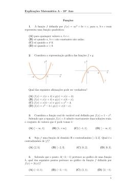 Ficha Funções 3